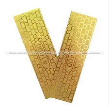 1Pc Diamond Plate Ti Titanize Knife Sharpening Stone Whetstone Grit 400/1000 S4