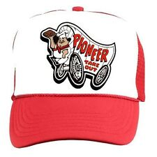 PIONEER CHICKEN Retro 70s 80s Trucker Cap Hat vintage style costume rock punk