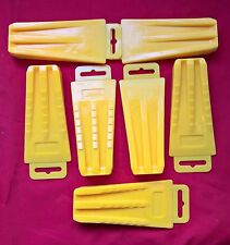 Pack of 7 Plastic Chainsaw Pocket Size Falling Wedges - 5-1/2 Inch Plastic Wedge