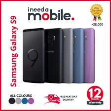 Samsung Galaxy S9 - 64GB 128GB 256GB - Unlocked OR Locked, GOLD, BLUE BLACK GREY