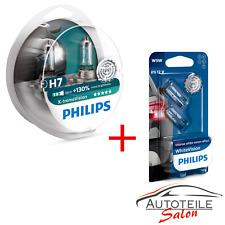 Set Philips X-tremeVision H7 bis zu 130% 12972XV+S2 Duo 2 Stk.+ 2x W5W WhiteVisi