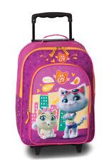 44 CatS Kinder Reisegepäck Trolley Koffer Tasche pink 32 x 42 x 16/21
