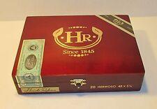 HR Hermoso Wooden Cigar Box