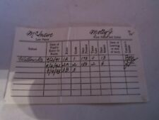 American Girl Doll MOLLY Replacement School REPORT CARD AG Version