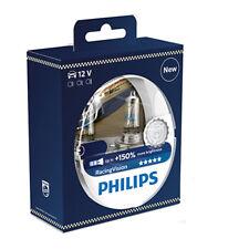 COPPIA Lampada Lampadina Alogena bulb PHILIPS H4 P43t-38 Racing Vision 12V60/55W
