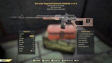 PS4 Fallout 76 Anti-Armor Handmade, Explosive, 90% RW, ⭐️⭐️⭐️💥💥💥