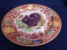 Woods Burslem England, Turkey Dinner Plate, 25.5cm, Enoch, Ralph