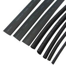 8 Size Heatshrink Heat Shrink Tube Black Insulation Sleeves Wire Wrap Cable Kit