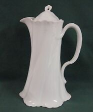 Rosenthal VERSAILLES WHITE Chocolate Pot with Lid