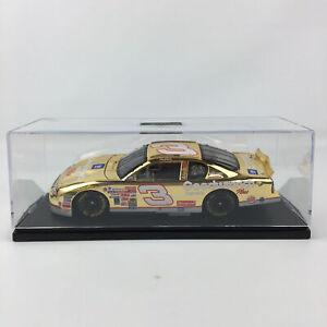 NASCAR Dale Earnhardt #3 2000 Monte Carlo 24KT Gold 1:24 Diecast Car w/ Box COA