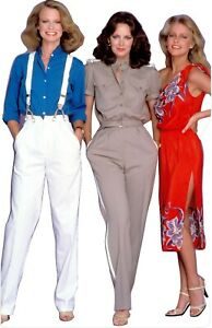 """Charlie's Angels-Hack/Smith/Ladd -68"""" Tall Life Size Cardboard Cutout Standee"""