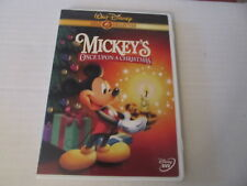 Mickeys Once Upon a Christmas (DVD, 2003, Gold Collection Edition) NEW