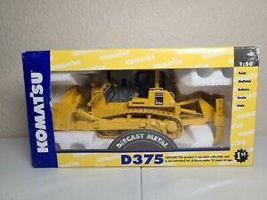 Komatsu D375A Dozer with Ripper - Yellow - First Gear 1:50 Scale Model #50-0216