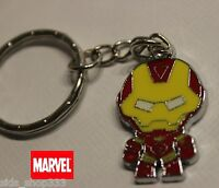 Marvel Comics IRON MAN Scottie Young style Movie Full metal Key chain cosplay US