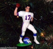 dave BROWN new york GIANTS ny football NFL xmas ornament HOLIDAY vtg JERSEY #17