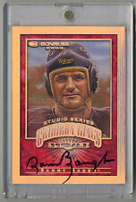 2000 Donruss All-Time Gridiron Kings Studio SAMMY BAUGH Auto # 1/1 REDSKINS HOF