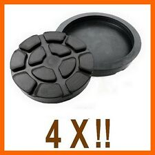 4 X bloc de caoutchouc D. 125 mm. pour Pont elevateur Ravaglioli -Italie-tampons
