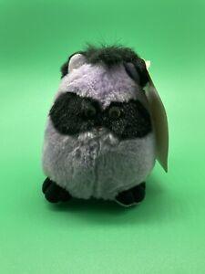 "Vintage Mattel ""Fuzzle"" Raccoon Unproduced Prototype Popples Plush stuffed toys"