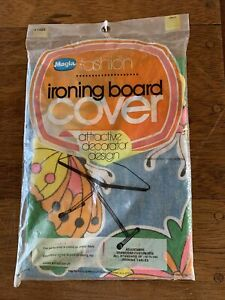 Vintage Ironing Board Cover 60's-70's Mod Butterfly New in Package Peter Max