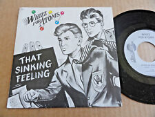 """DISQUE 45T DE WHIZZ FOR ATOMS  """" THAT SINKING FEELING """""""