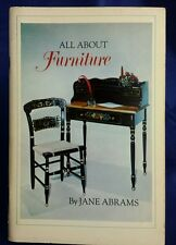 1970s Vintage Doubleday Book All About Furniture DIY Interior Design