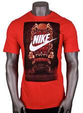 NIKE Lebron Futura Throne T-Shirt sz 2XL XX-Large Blue Red James Elite Lion NEW