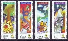 Singapore 1997 Protect our Environment Complete 4V MnH