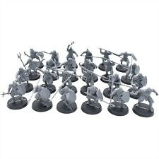 Warhammer LOTR Lord of the Rings Morannon Orcs x 24 Unpainted