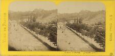 Grenoble France Photo Stereo BK Paris Vintage Albumine ca 1870