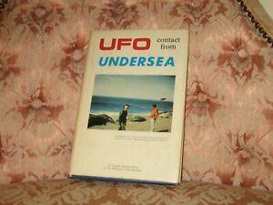 UFO CONTACT FROM UNDERSEA By Virgilio Sanchez-Ocejo - Rare Hardcover 1st Edition