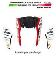 Adesivi per parafango design personalizzato 2019 - Ducati Hypermotard 950