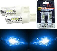 LED Light 80W 7440 Blue 10000K Two Bulbs Rear Turn Signal Replace Lamp Fit