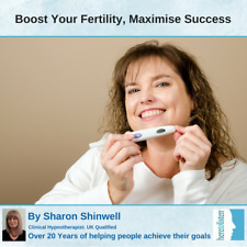 Can't get pregnant? Increase Fertility boost your chances Hypnosis CD HALF PRICE