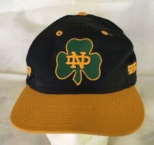 Nice Notre Dame Fighting Irish Hat with Three Leaf Clover Logo on front