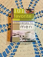 101 Favorite Bible verses for Men,Encouraging 51pc Deck of Cards, New in Box