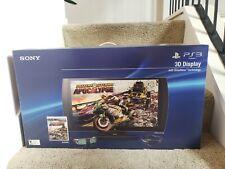 "Brand New Rare Sony Playstation 3D Tv Monitor Display Lcd Flat Panel 24"" 1080p"
