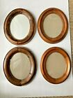 4 Victorian Oval Picture Frames Solid Wood Tongue and Groove Handmade Antique