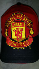 Official Manchester United English Premier League Fitted Hat Large Logo