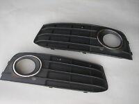 Audi A4 B8 09-12 Niebla Parrilla Rejilla con Cromado Engaste Luces Luz