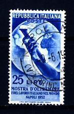 ITALY - ITALIA REP. - 1952 - Mostra d 'oltremare e del lavoro italiano nel mondo