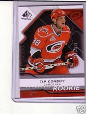 TIM CONBOY AUTHENTIC ROOKIE SP GAME USED 08/09 RC