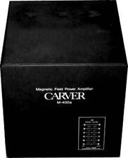 CARVER M-400  OWNERS  MANUAL  ALL 16 PAGES ON A  CD-ROM