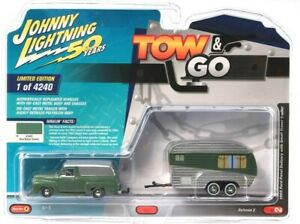Johnny Lightning 50 Years Tow & Go Limited Edition 1 Of 4240 Die-Cast Metal