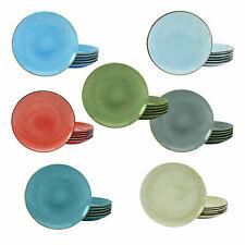 CreaTable Nature Collection 6-er Speiseteller Teller Set Tafelservice Steinzeug