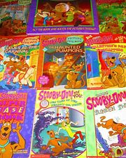 SCOOBY DOO Lot of 11 - HC/SC-Leveled Readers, Chapter, Picture Change Books