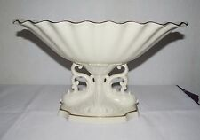 Stunning Lenox  Pedestal Compote Bowl Or Banana  with Gold Rim made in USA''