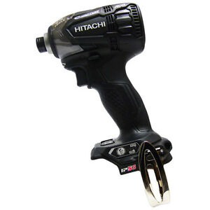 Hitachi 18V Cordless Impact Driver WH18DDL2 (NN) Strong Black Body Only New