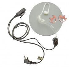Icom covert earpiece, twin earmoulds & carry pouch bundle