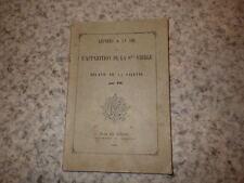 1886.Lettres sur apparition Sainte vierge à Mélanie de la Salette..