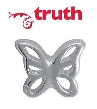 Genuine verità PK 925 argento Sterling Charm OPENWORK FARFALLE PERLINE, estate